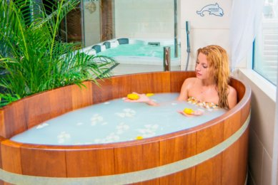 Phyto barrel - NEMO Resort & SPA in Odessa, photo № 15