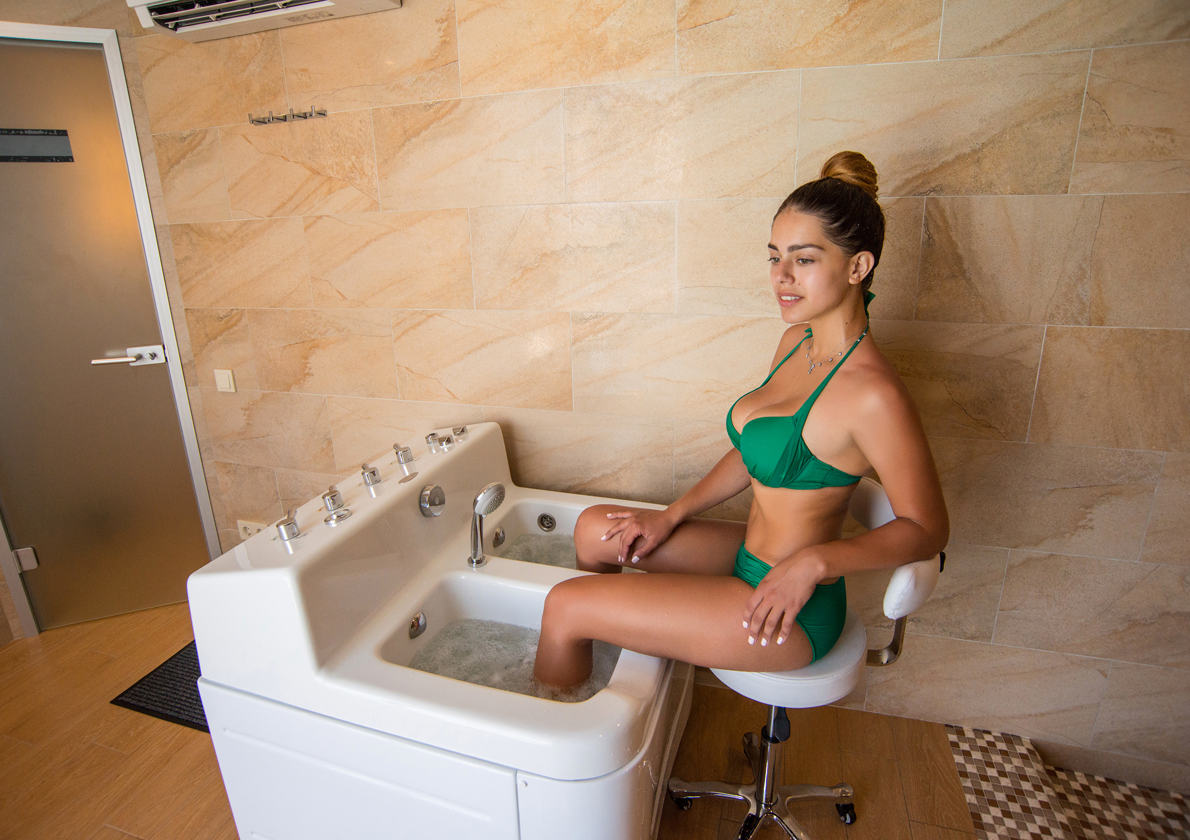 Whirlpool foot tub - Hotel NEMO, Photo № 17