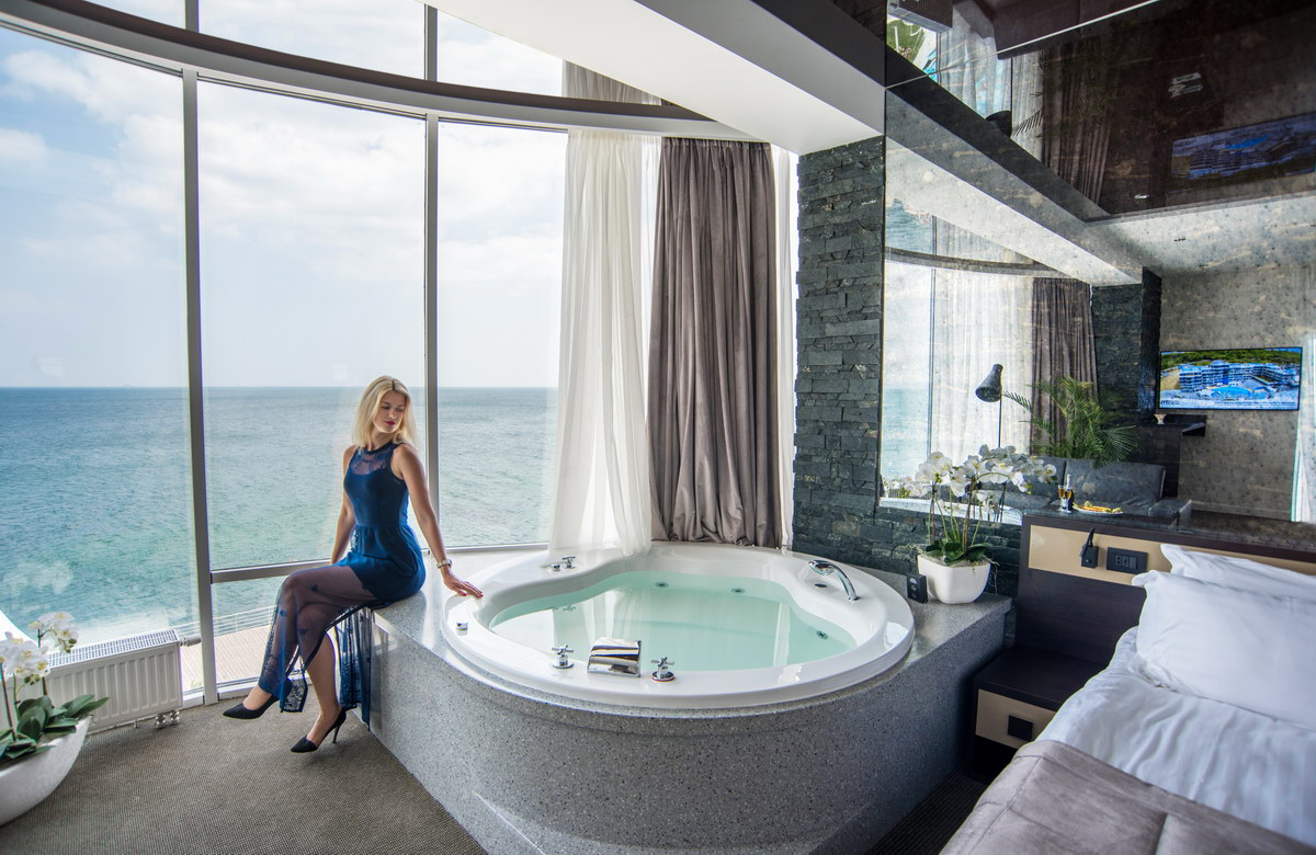 Люкс с видом на море - Отель NEMO, Фото № 3
