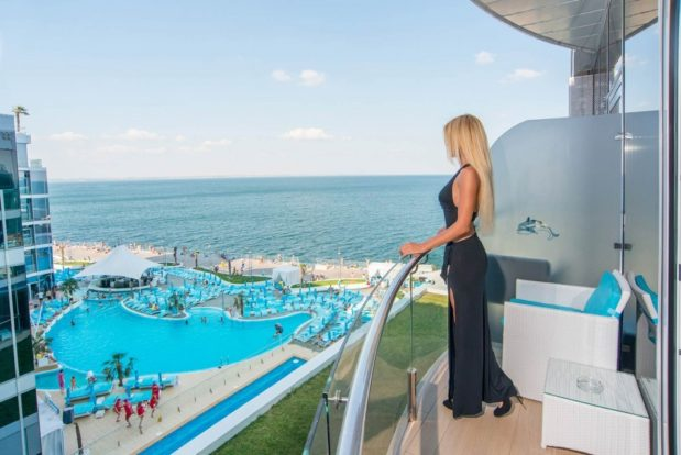 Люкс с видом на мореОтель NEMO, Фото № 29