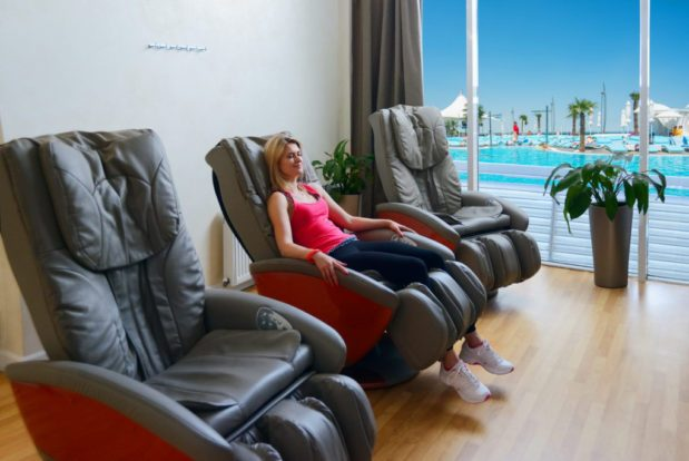 Relax zone with massage chairs in RESORT & SPA HOTEL NEMO, photo № 3
