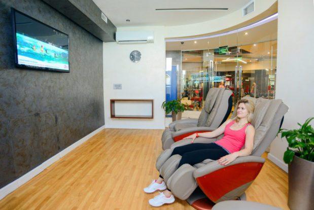 Relax zone с массажными креслами в RESORT & SPA HOTEL NEMO, фото № 4