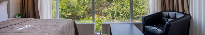 Стандарт с видом на паркОтель NEMO, Фото № 1
