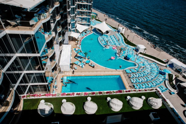 Strandkomplex NEMO Beach Club - Hotel NEMO, Foto № 17