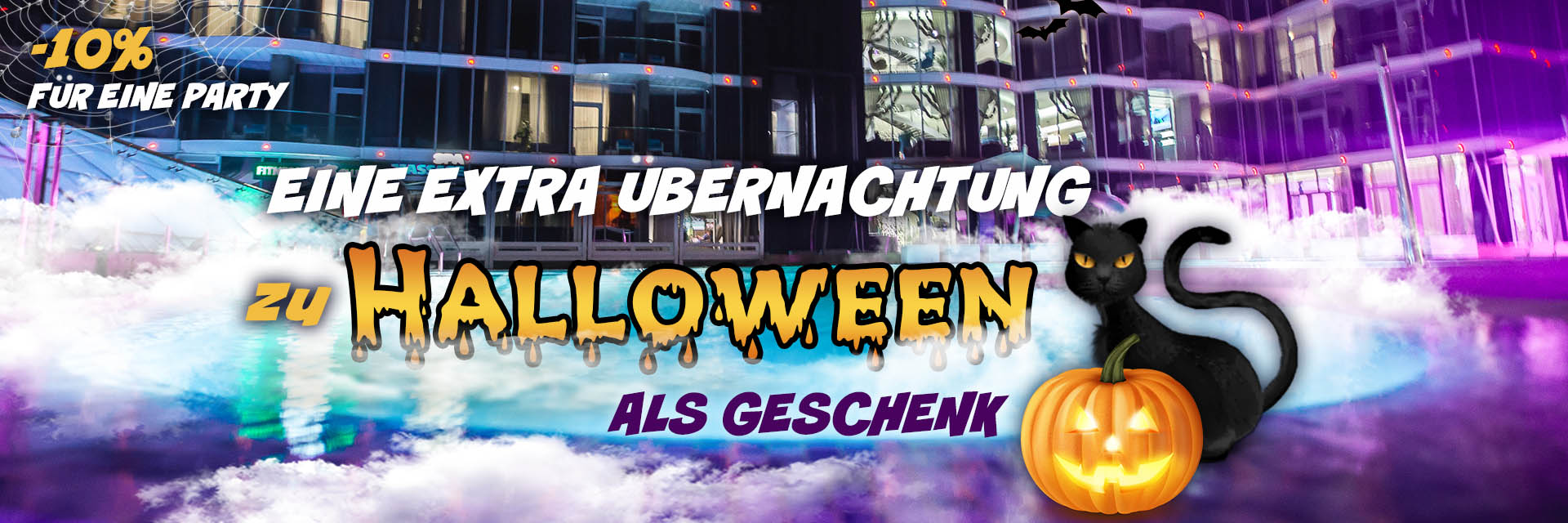 Halloween im NEMO im RESORT & SPA HOTEL NEMO, foto № 1