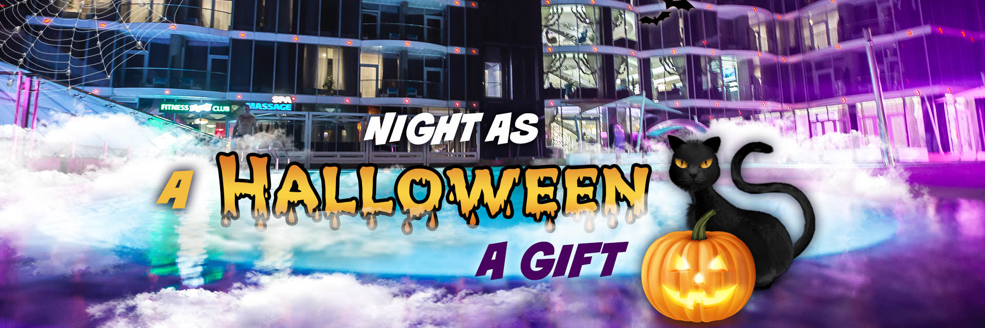 A Halloween night as a gift! in RESORT & SPA HOTEL NEMO, photo № 1
