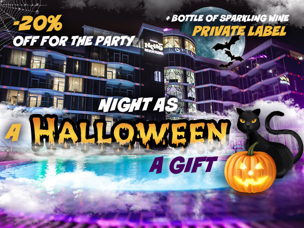 A HALLOWEEN NIGHT AS A GIFT! - NEMO Resort & SPA in Odessa, photo № 9