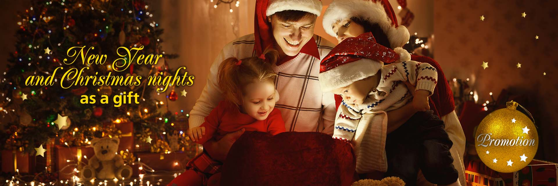 Christmas and New Year's Nights as a Gift! in RESORT & SPA HOTEL NEMO, photo № 1