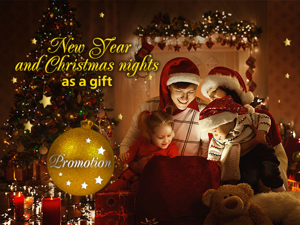 Christmas and New Year's Nights as a Gift! - NEMO Resort & SPA in Odessa, photo № 9