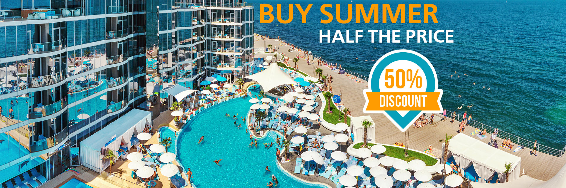 Buy summer half the price in RESORT & SPA HOTEL NEMO, photo № 1