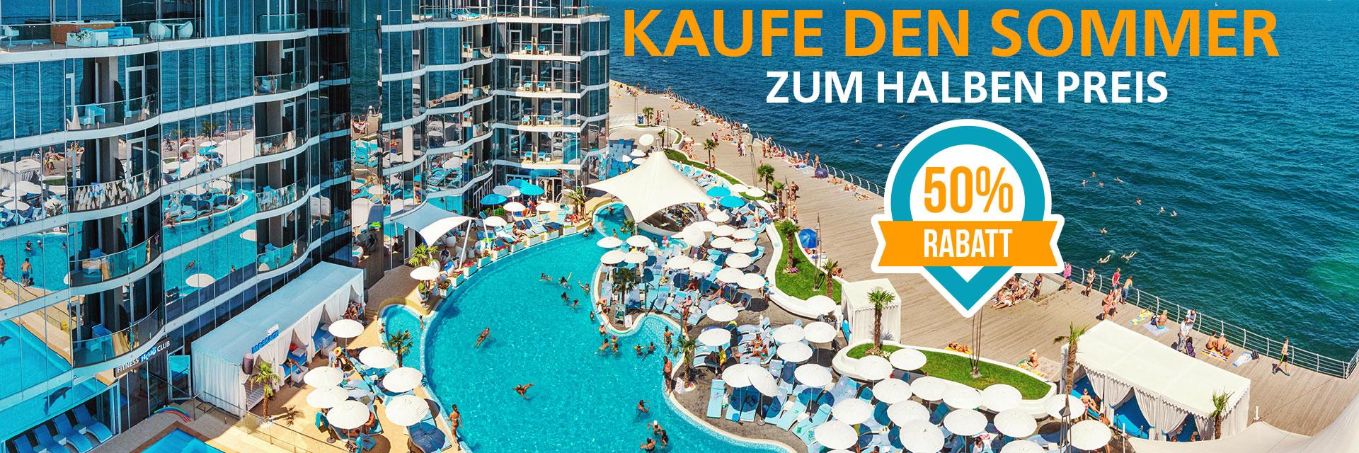 Kaufe den Sommer zum halben Preis im RESORT & SPA HOTEL NEMO, foto № 1