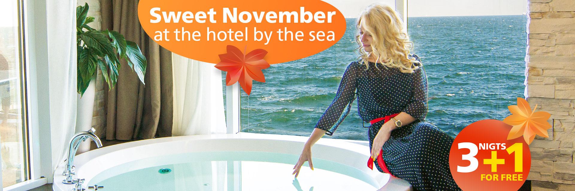 Meet sweet November at NEMO! in RESORT & SPA HOTEL NEMO, photo № 1