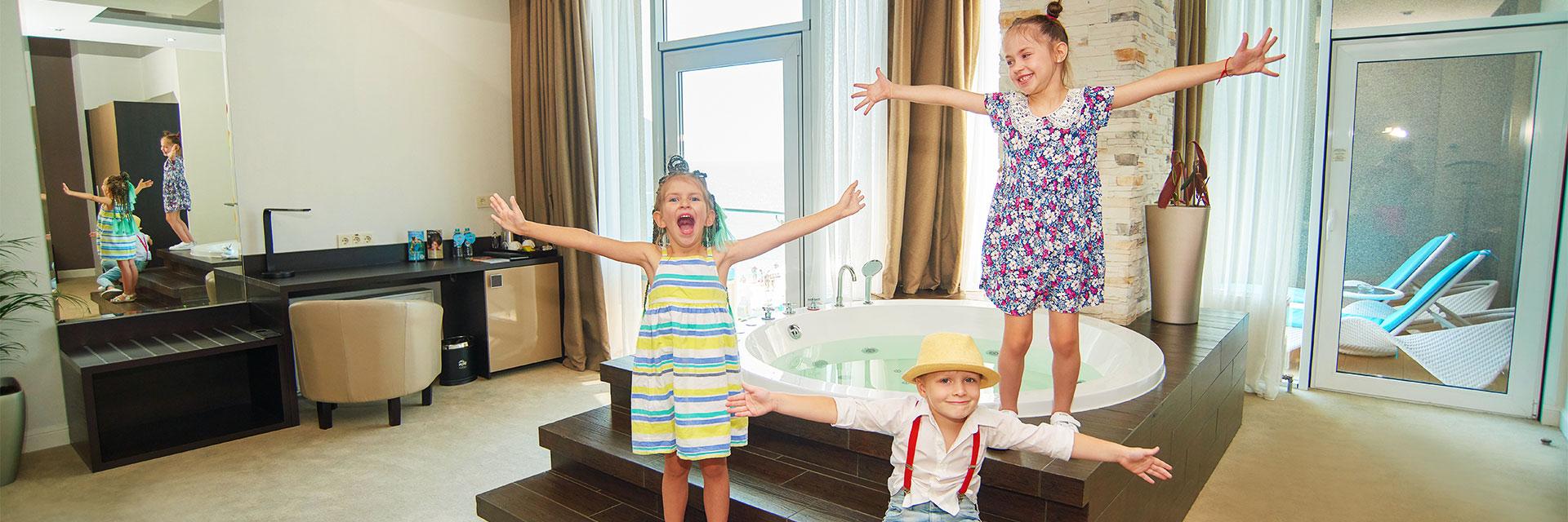 Kinder übernachten gratis im RESORT & SPA HOTEL NEMO, foto № 1